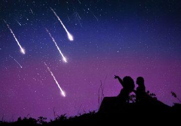 Shooting star symbolism